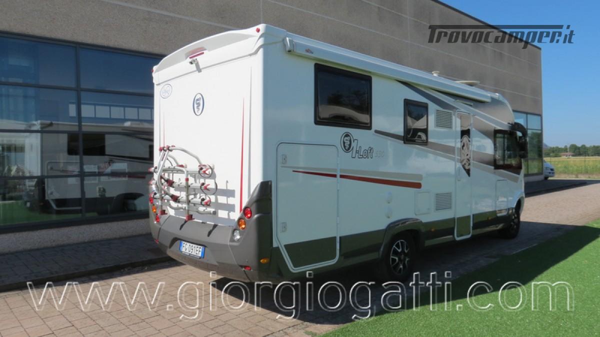 Camper Elnagh I-Loft 530 motorhome letti gemelli e garage usato  in vendita a Alessandria - Immagine 28