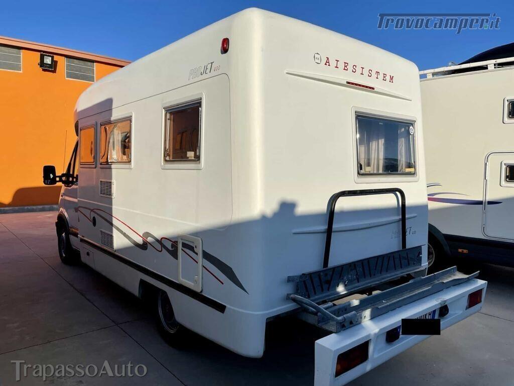 Semintegrale Aiesistem Projet 400 monoscocca usato  in vendita a Sassari - Immagine 5