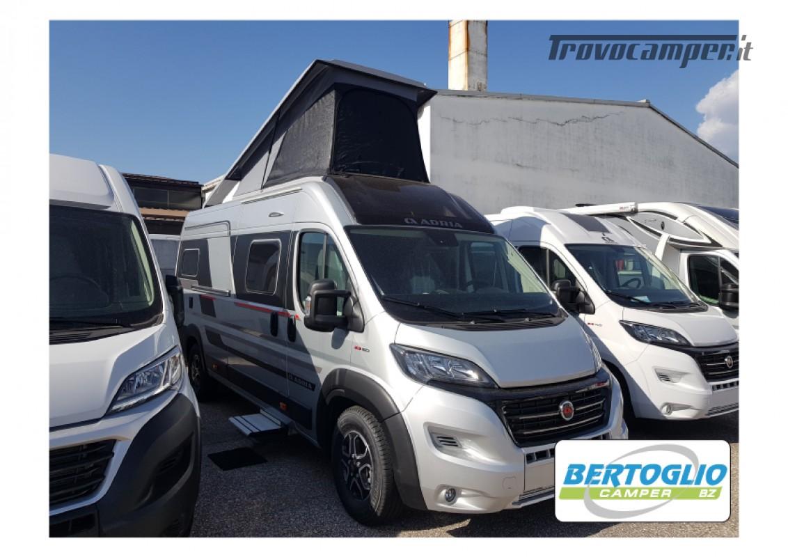 424 - ADRIA TWIN SPORT SUPREME 640 SGX con tetto soffietto e letto elettrico nuovo  in vendita a Bolzano - Immagine 3