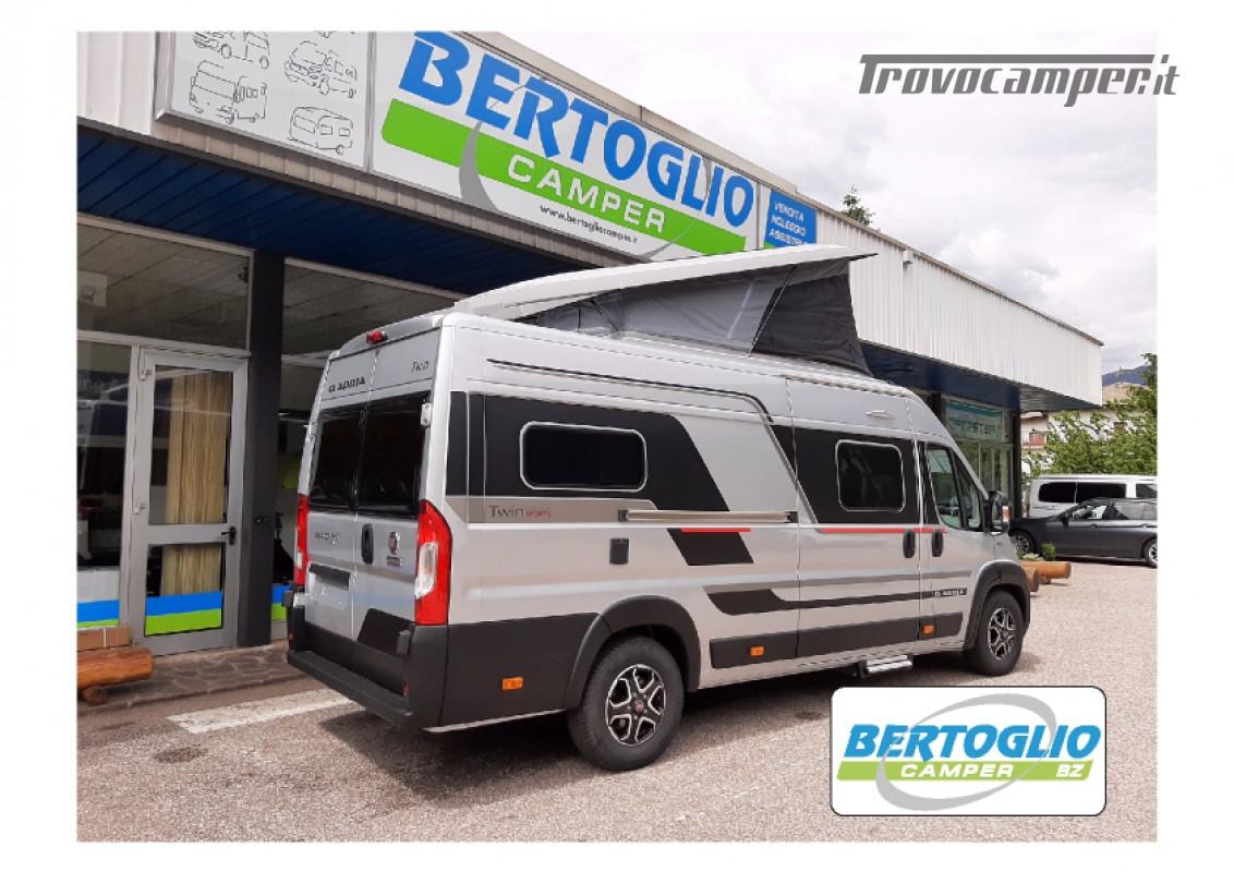 424 - ADRIA TWIN SPORT SUPREME 640 SGX con tetto soffietto e letto elettrico nuovo  in vendita a Bolzano - Immagine 4