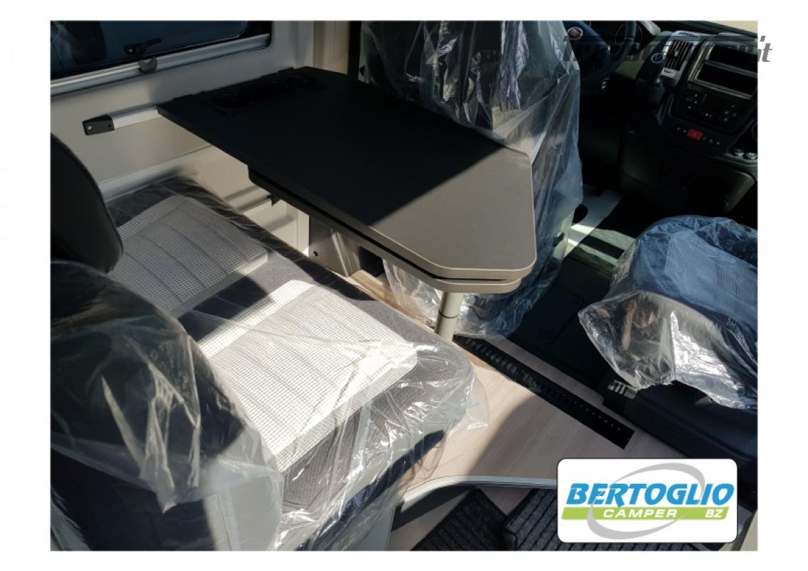 424 - ADRIA TWIN SPORT SUPREME 640 SGX con tetto soffietto e letto elettrico nuovo  in vendita a Bolzano - Immagine 14