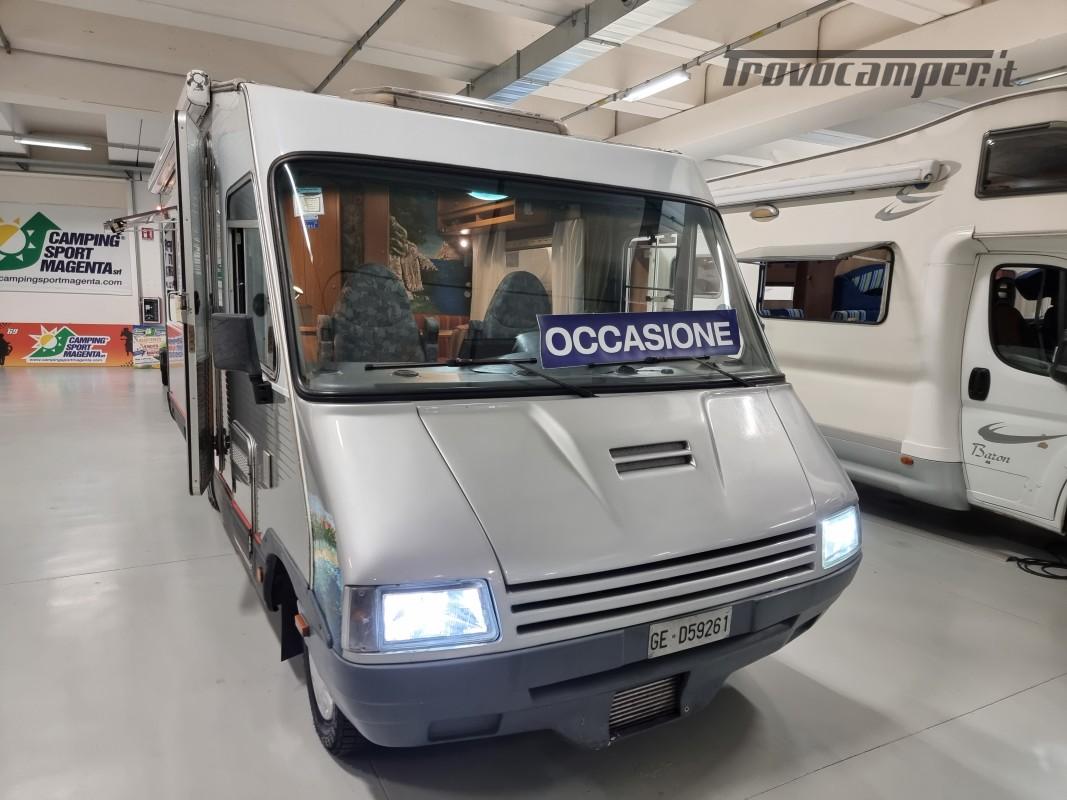 MOTORHOME LAIKA LASERHOME 620 CON DP DINETTE AVANZATA CLIMA CABINA, FULL OPT usato  in vendita a Milano - Immagine 1