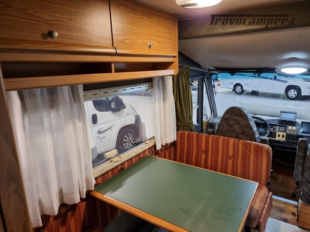 MOTORHOME LAIKA LASERHOME 620 CON DP DINETTE AVANZATA CLIMA CABINA, FULL OPT usato  in vendita a Milano - Immagine 10