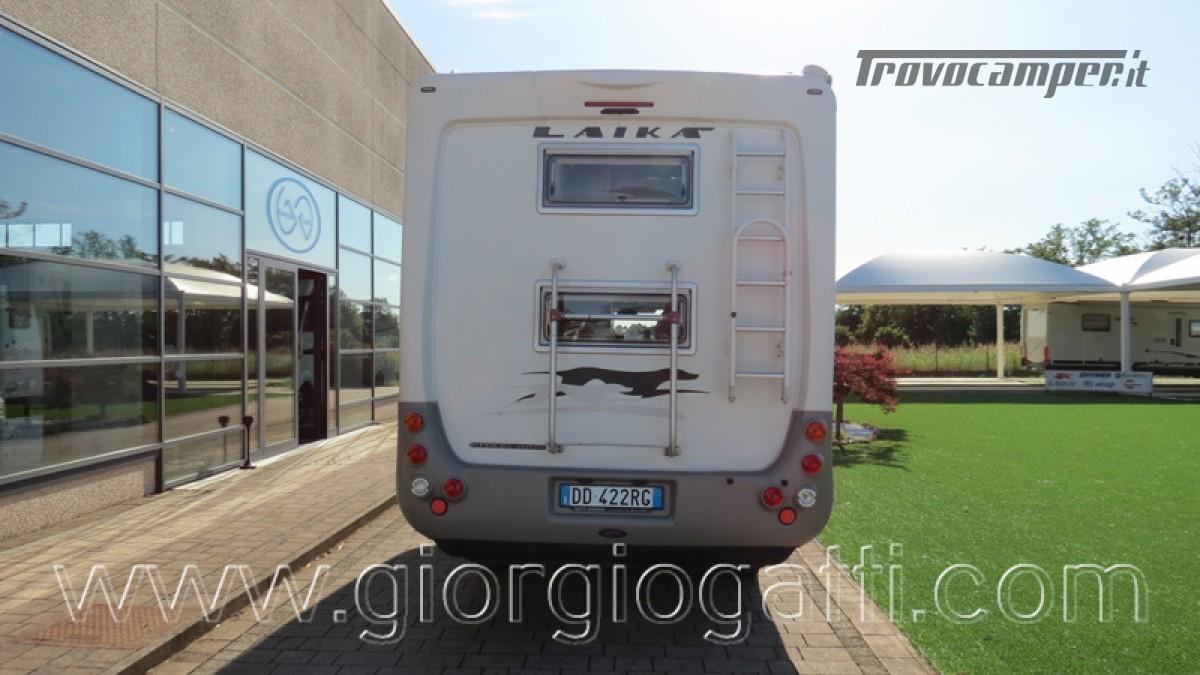 Camper Laika Kreos 3000 mansardato IVECO con garage usato  in vendita a Alessandria - Immagine 24