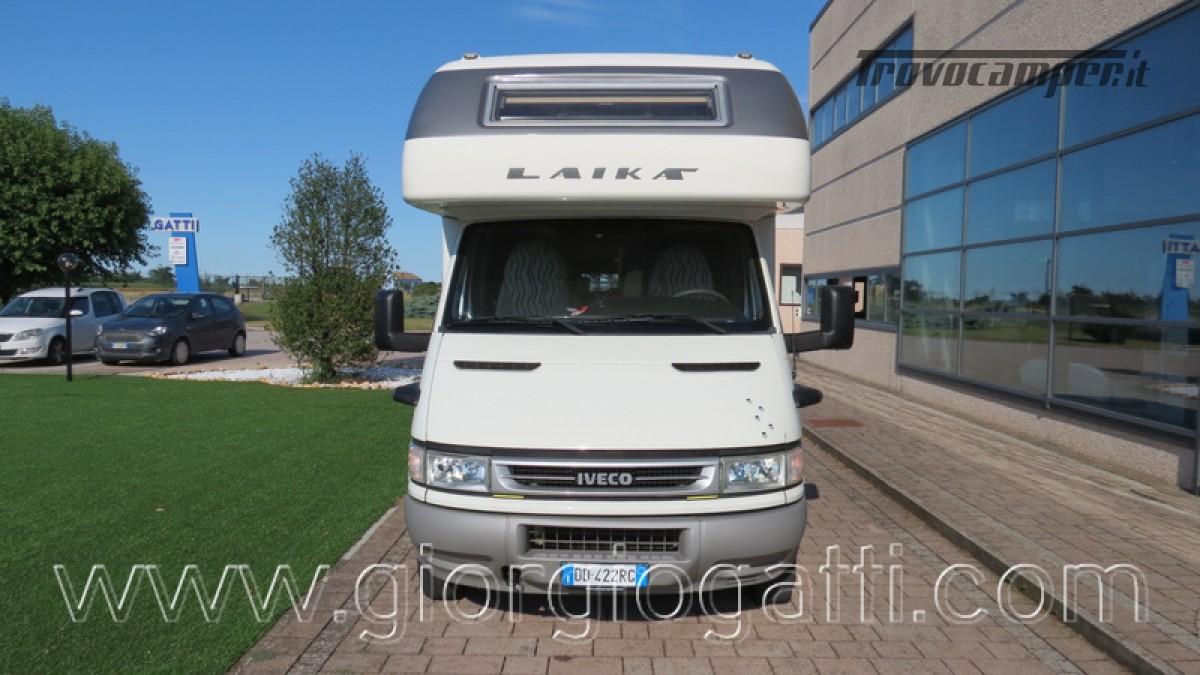 Camper Laika Kreos 3000 mansardato IVECO con garage usato  in vendita a Alessandria - Immagine 29