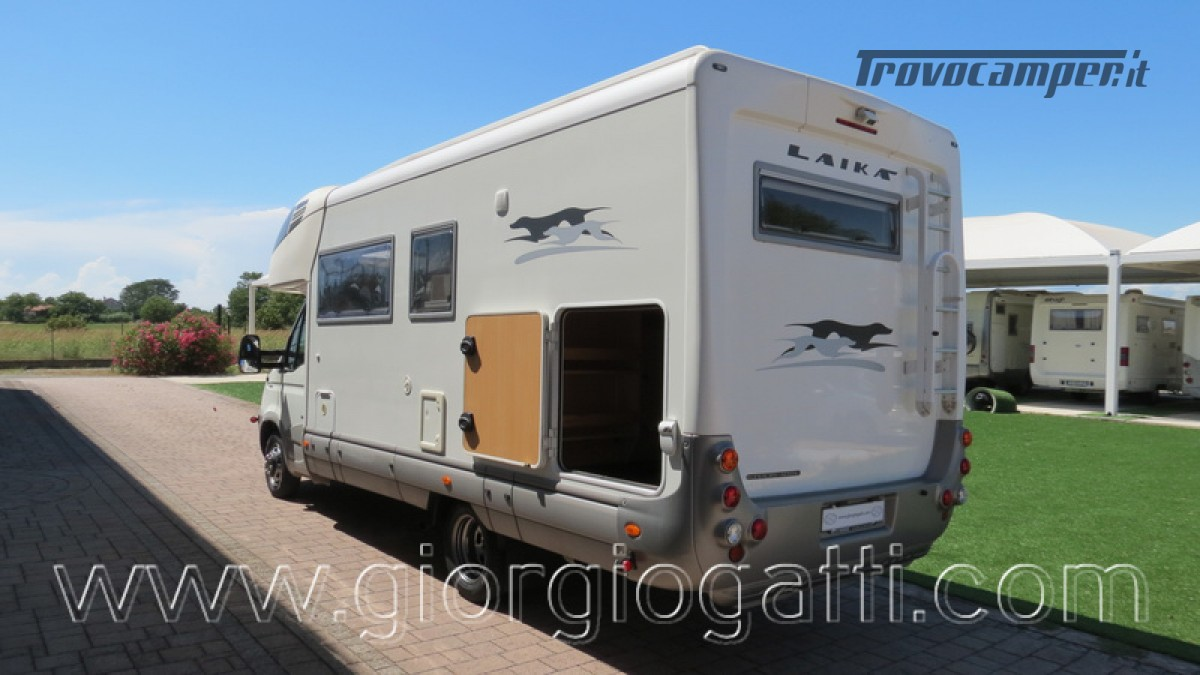 Camper Laika Kreos 3001 mansardato IVECO Daily 177cv usato  in vendita a Alessandria - Immagine 15