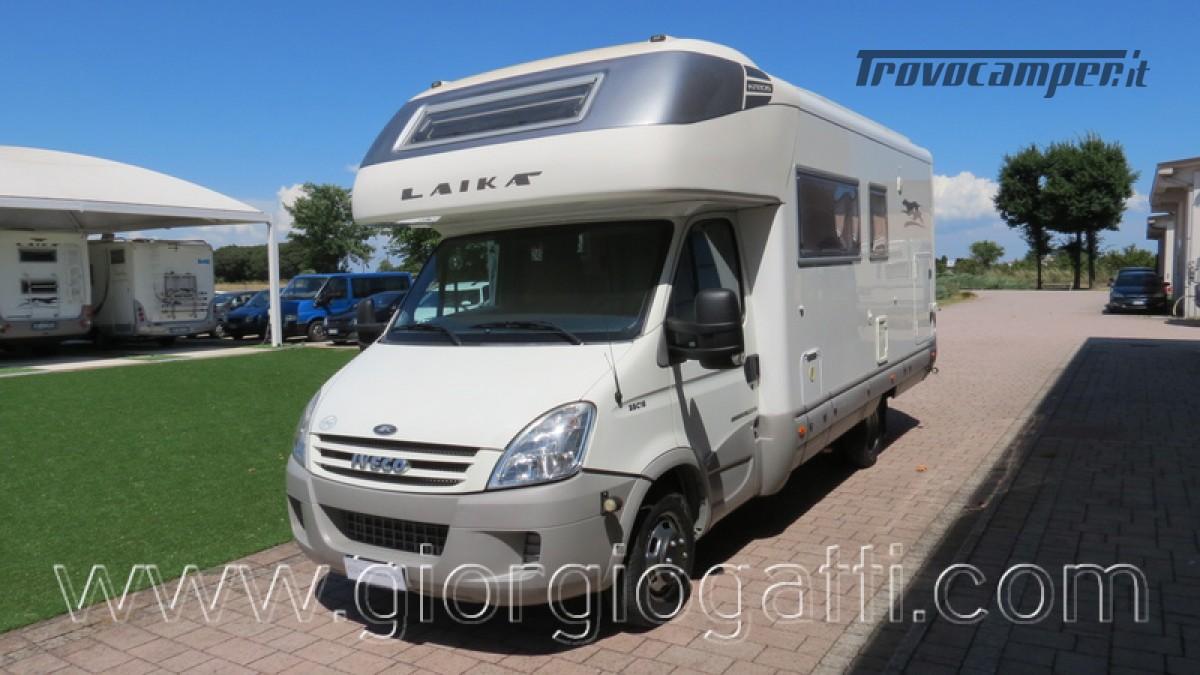 Camper Laika Kreos 3001 mansardato IVECO Daily 177cv usato  in vendita a Alessandria - Immagine 22