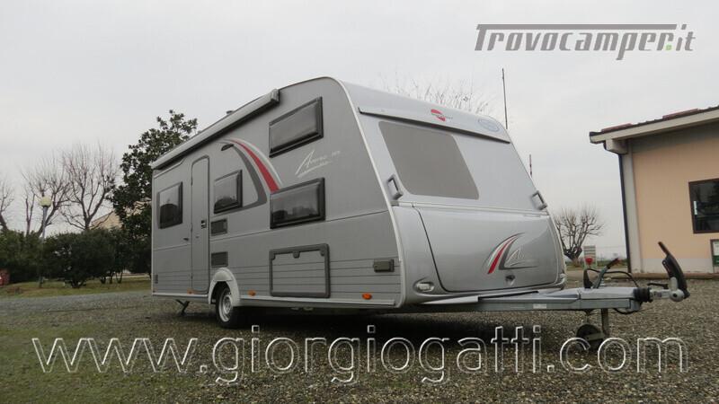 Caravan Burstner Averso Plus 510 TK camperizzata usato  in vendita a Alessandria - Immagine 1