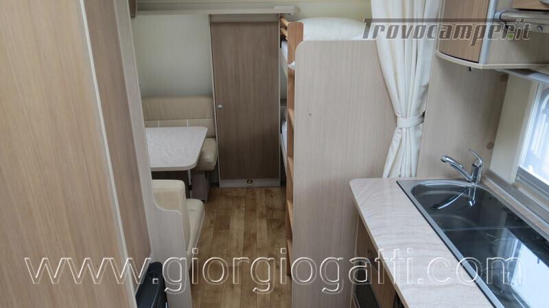 Caravan Burstner Averso Plus 510 TK camperizzata usato  in vendita a Alessandria - Immagine 3
