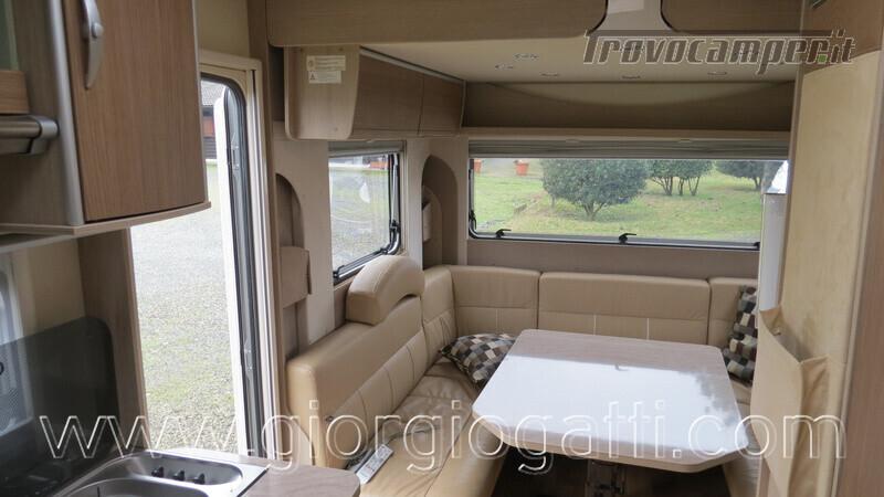Caravan Burstner Averso Plus 510 TK camperizzata usato  in vendita a Alessandria - Immagine 5