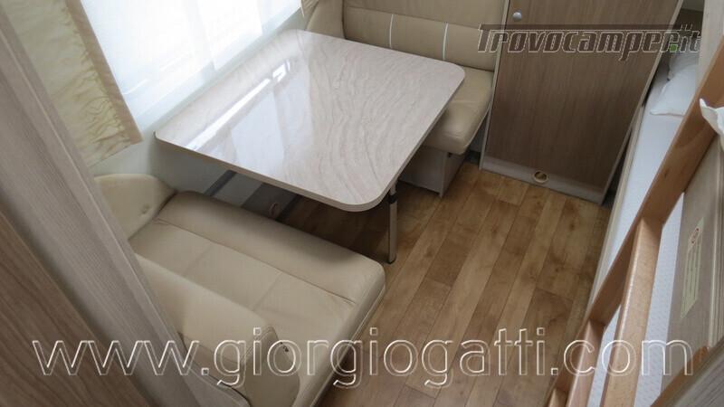 Caravan Burstner Averso Plus 510 TK camperizzata usato  in vendita a Alessandria - Immagine 15