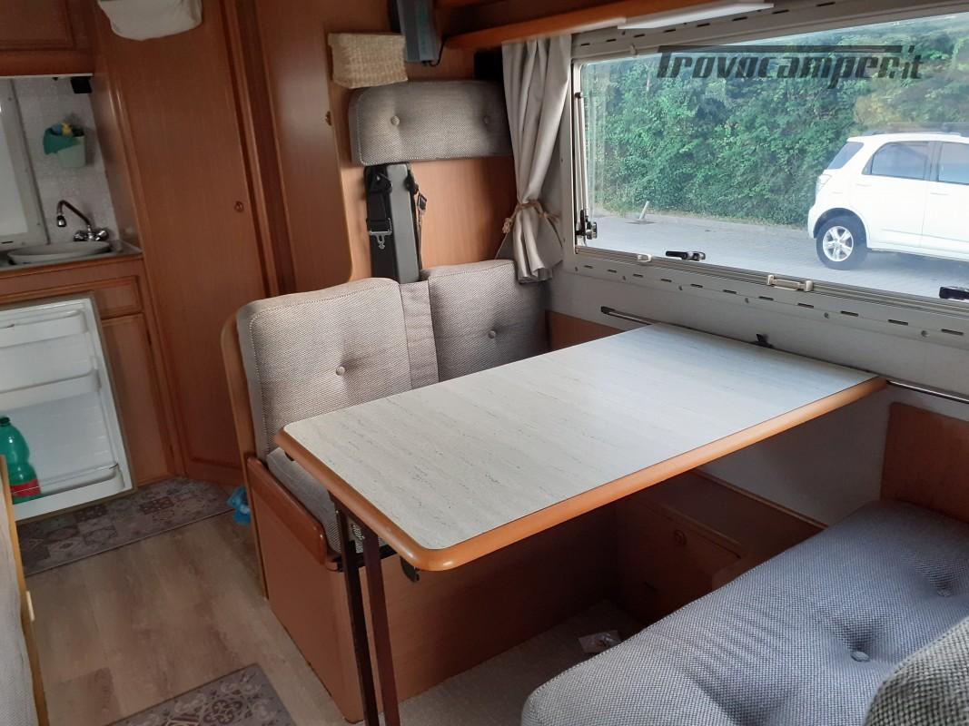Mobilvetta skipper 54 mansardato usato  in vendita a Livorno - Immagine 14