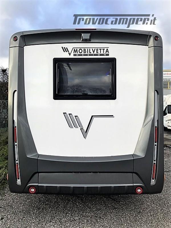 MOTORHOME 4 POSTI CON DOPPIO BASCULANTE  MOBILVETTA K-YACHT 80 MT 6.99 usato  in vendita a Rieti - Immagine 2