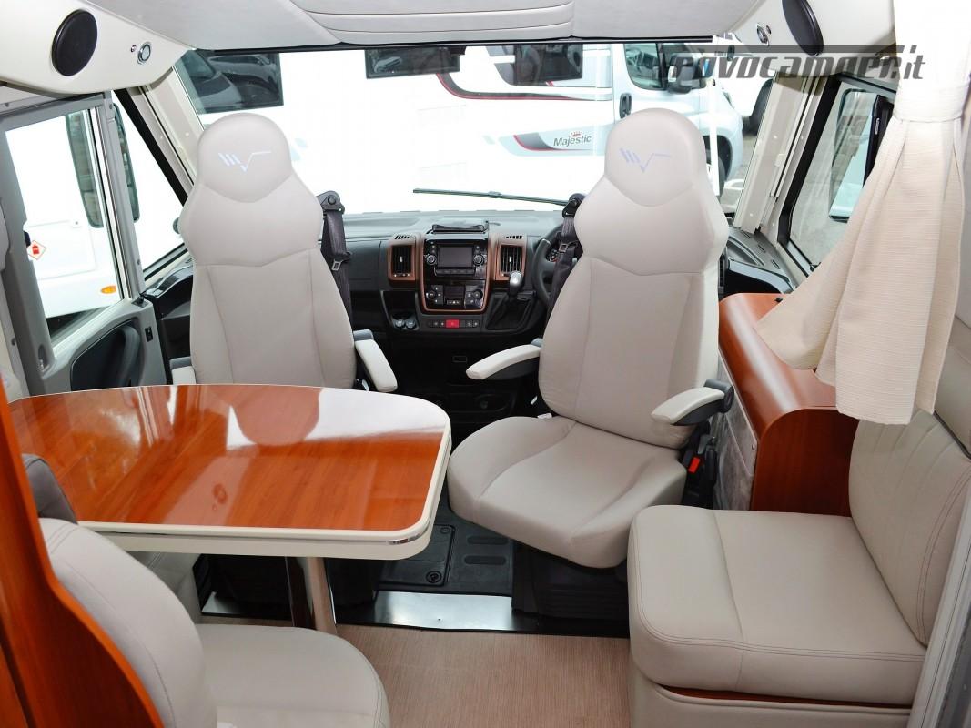 MOTORHOME 4 POSTI CON DOPPIO BASCULANTE  MOBILVETTA K-YACHT 80 MT 6.99 usato  in vendita a Rieti - Immagine 6