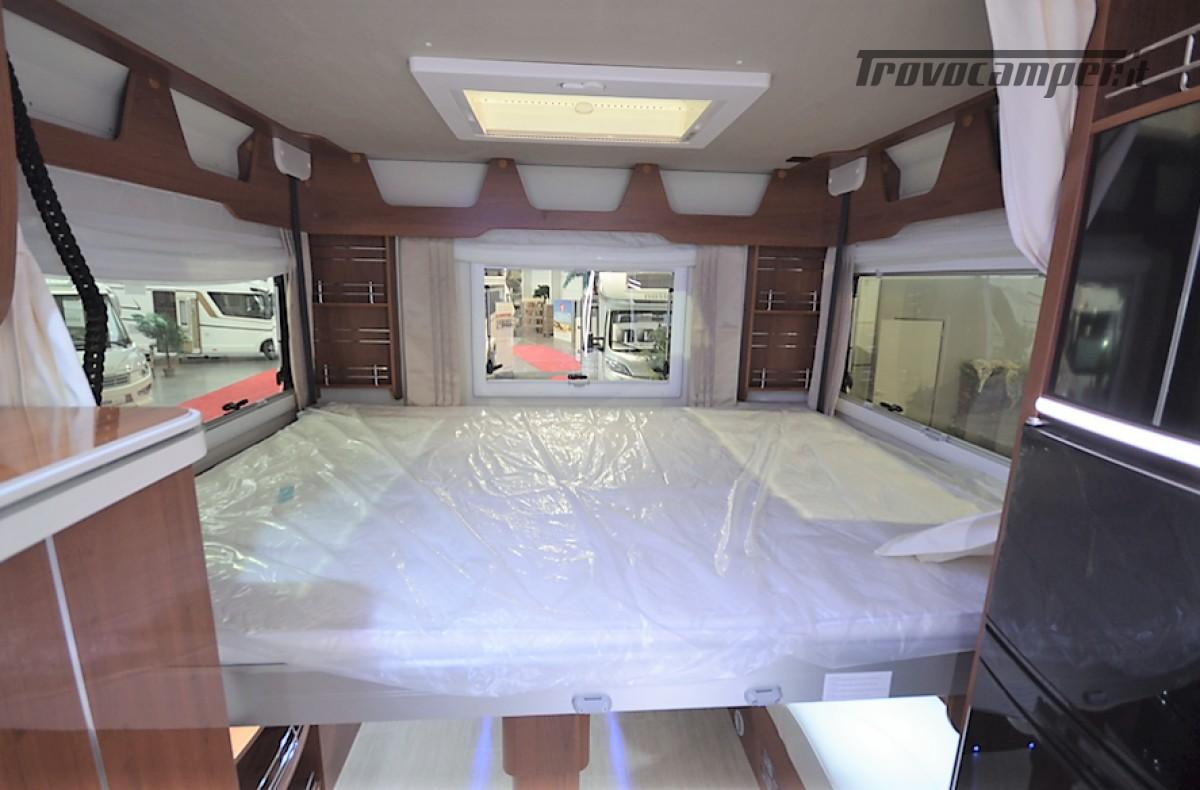 MOTORHOME 4 POSTI CON DOPPIO BASCULANTE  MOBILVETTA K-YACHT 80 MT 6.99 usato  in vendita a Rieti - Immagine 7