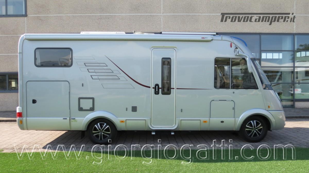 Camper Hymer B-Klasse SL 614 motorhome ALKO con garage usato  in vendita a Alessandria - Immagine 1