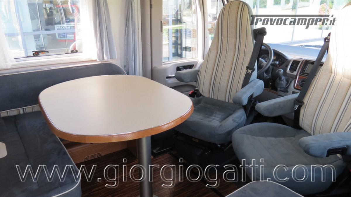 Camper Hymer B-Klasse SL 614 motorhome ALKO con garage usato  in vendita a Alessandria - Immagine 14