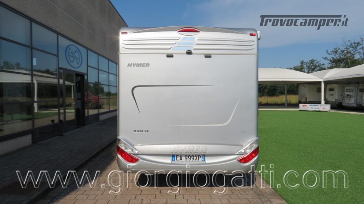 Camper Hymer B-Klasse SL 614 motorhome ALKO con garage usato  in vendita a Alessandria - Immagine 16