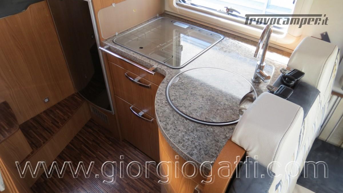 Camper Hymer B-Klasse SL 614 motorhome ALKO con garage usato  in vendita a Alessandria - Immagine 18