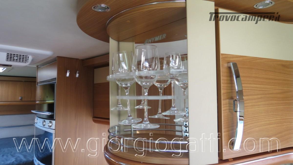 Camper Hymer B-Klasse SL 614 motorhome ALKO con garage usato  in vendita a Alessandria - Immagine 20