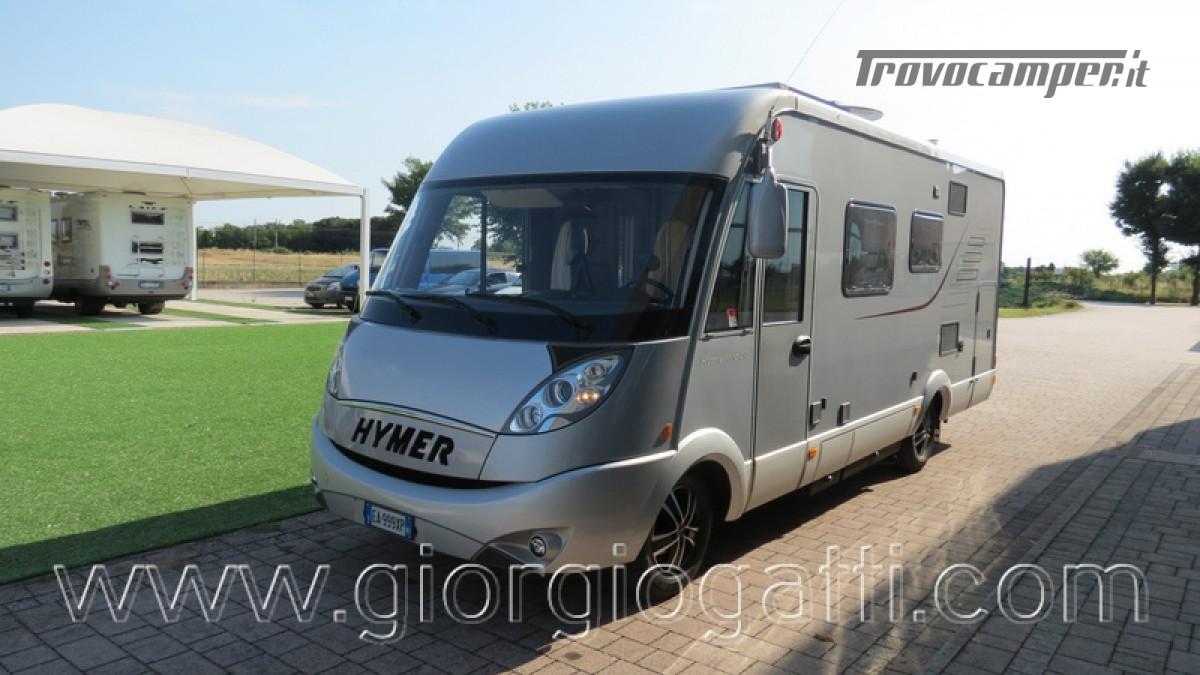 Camper Hymer B-Klasse SL 614 motorhome ALKO con garage usato  in vendita a Alessandria - Immagine 25