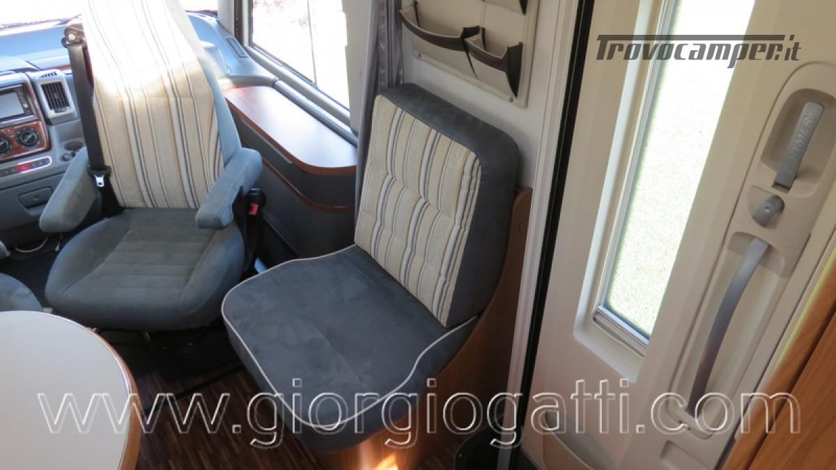 Camper Hymer B-Klasse SL 614 motorhome ALKO con garage usato  in vendita a Alessandria - Immagine 27