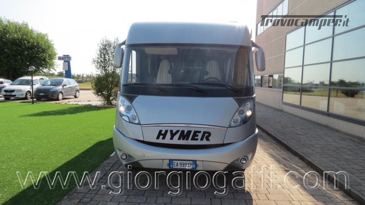 Camper Hymer B-Klasse SL 614 motorhome ALKO con garage usato  in vendita a Alessandria - Immagine 30