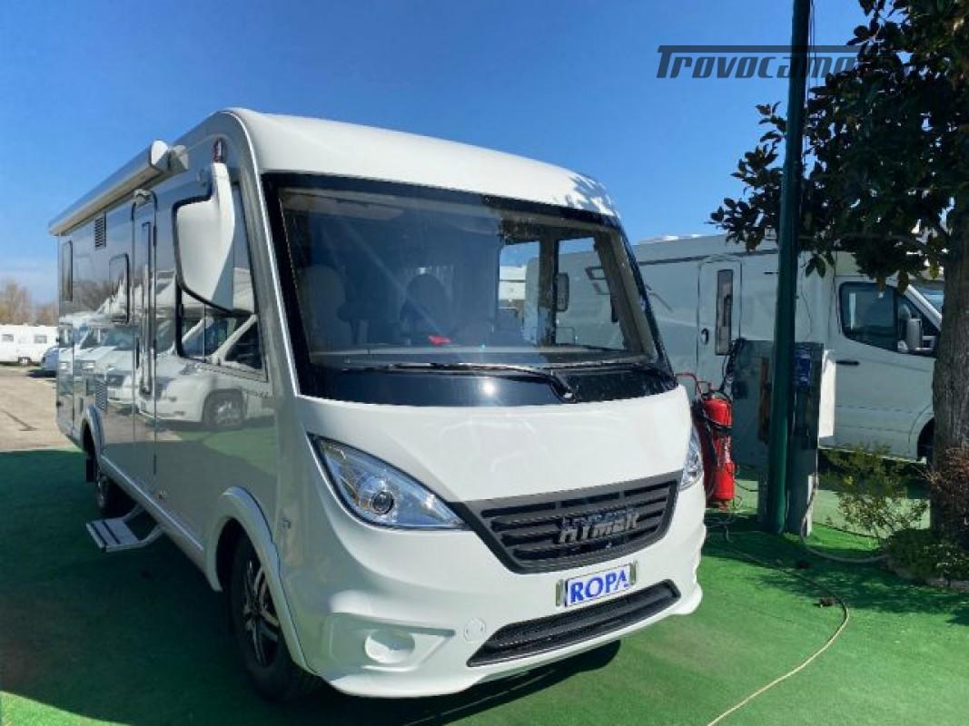 Motorhome HYMER-ERIBA EXIS I 580 - VEICOLO AZIENDA nuovo  in vendita a Bologna - Immagine 1
