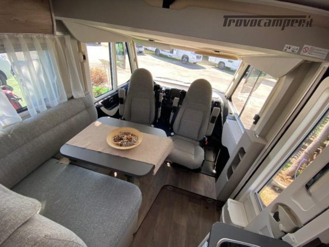 Motorhome HYMER-ERIBA EXIS I 580 - VEICOLO AZIENDA nuovo  in vendita a Bologna - Immagine 3