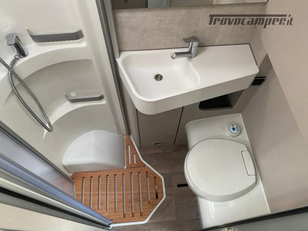 Motorhome HYMER-ERIBA EXIS I 580 - VEICOLO AZIENDA nuovo  in vendita a Bologna - Immagine 8