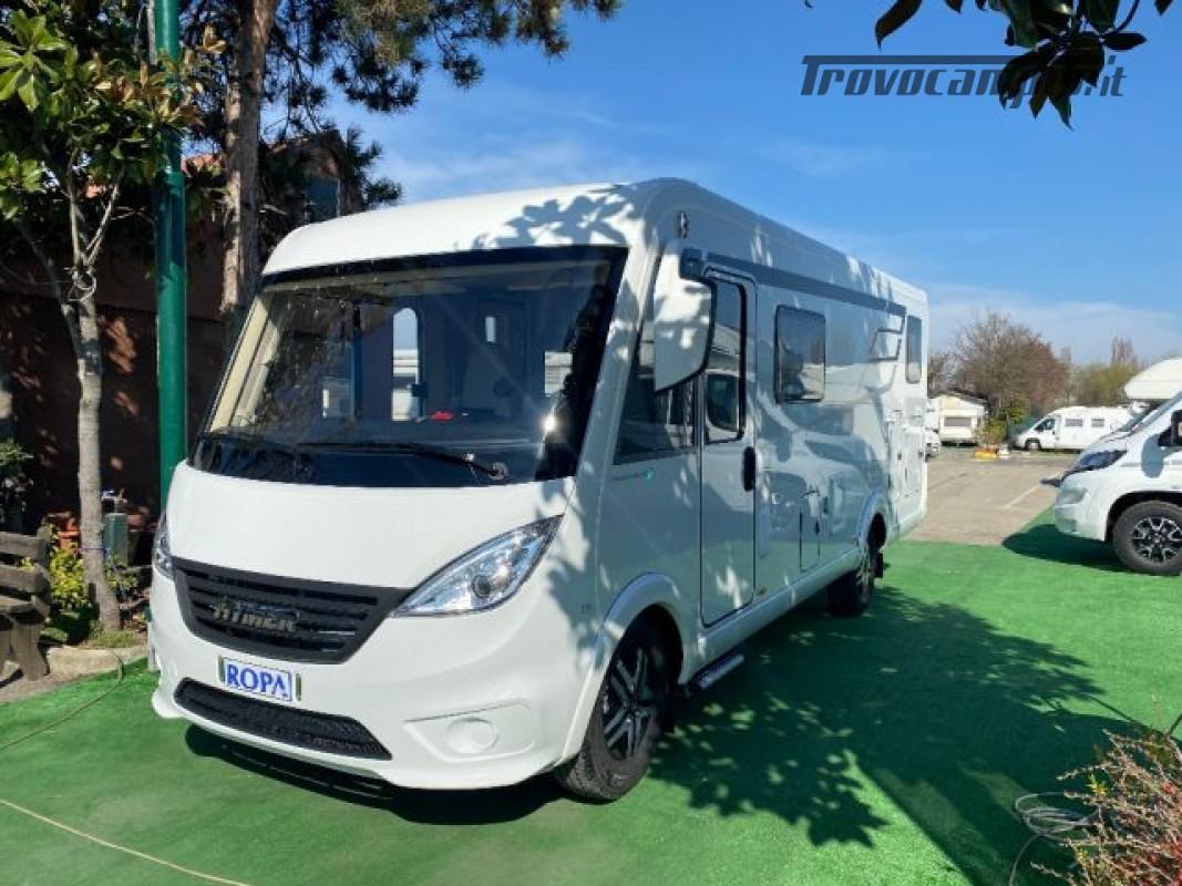 Motorhome HYMER-ERIBA EXIS I 580 - VEICOLO AZIENDA nuovo  in vendita a Bologna - Immagine 9