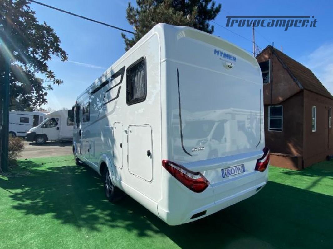Motorhome HYMER-ERIBA EXIS I 580 - VEICOLO AZIENDA nuovo  in vendita a Bologna - Immagine 10