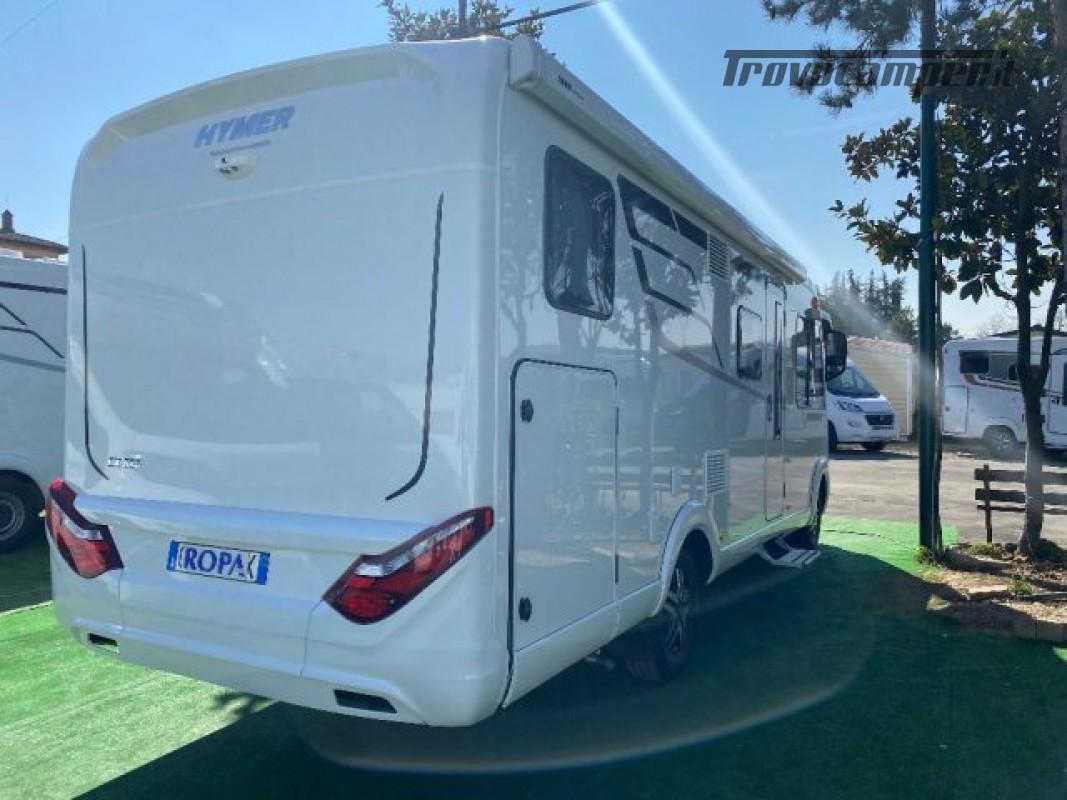 Motorhome HYMER-ERIBA EXIS I 580 - VEICOLO AZIENDA nuovo  in vendita a Bologna - Immagine 11