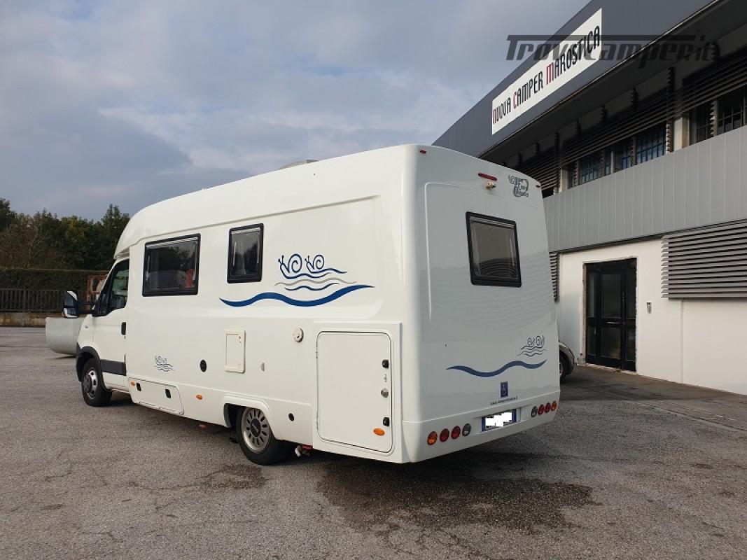 Camper per Disabili 3 Posti con pedana e sollevatore + garage usato  in vendita a Vicenza - Immagine 3