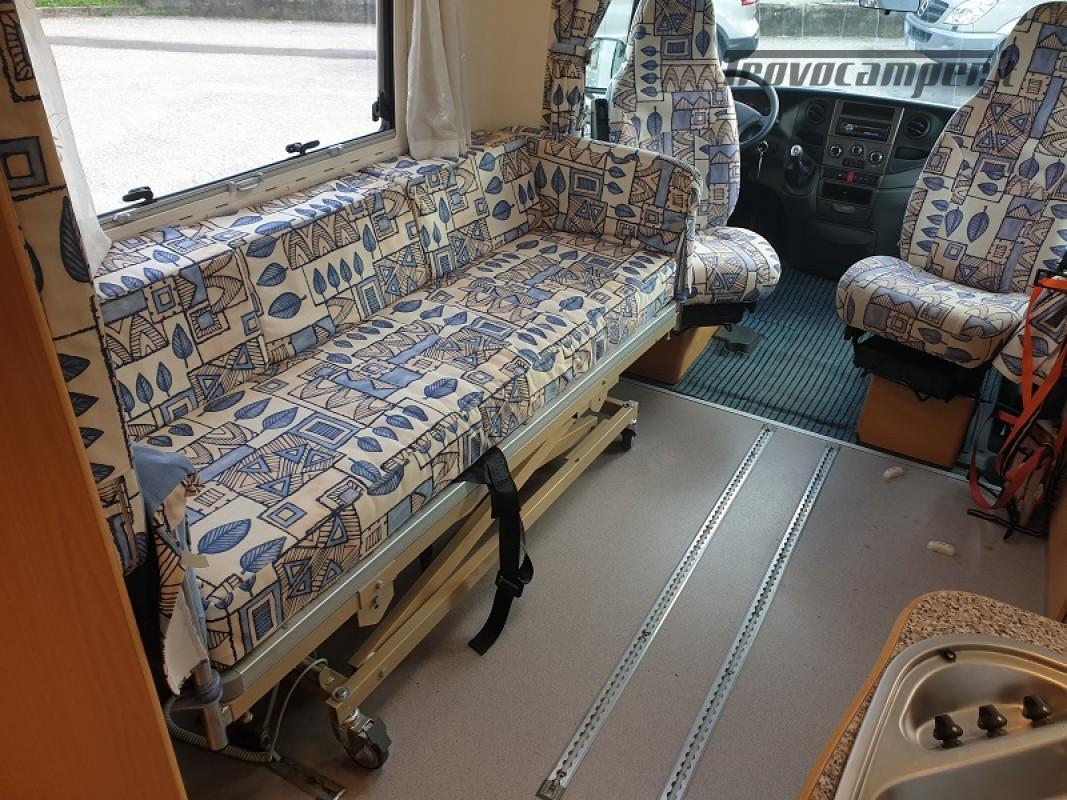 Camper per Disabili 3 Posti con pedana e sollevatore + garage usato  in vendita a Vicenza - Immagine 10