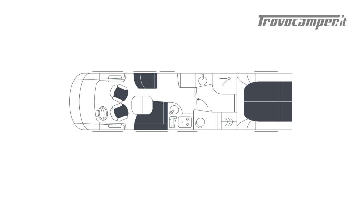 Motorhome Niesmann Bischoff Arto 88 LF nuovo  in vendita a Bolzano - Immagine 21