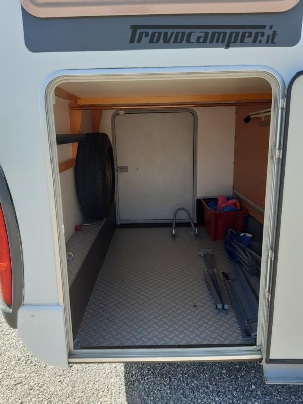 Knaus Suntraveller 708DG camper mansardato con ampio garage in coda usato  in vendita a Como - Immagine 5