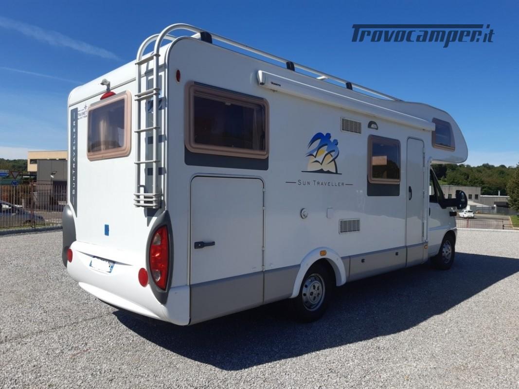 Knaus Suntraveller 708DG camper mansardato con ampio garage in coda usato  in vendita a Como - Immagine 4