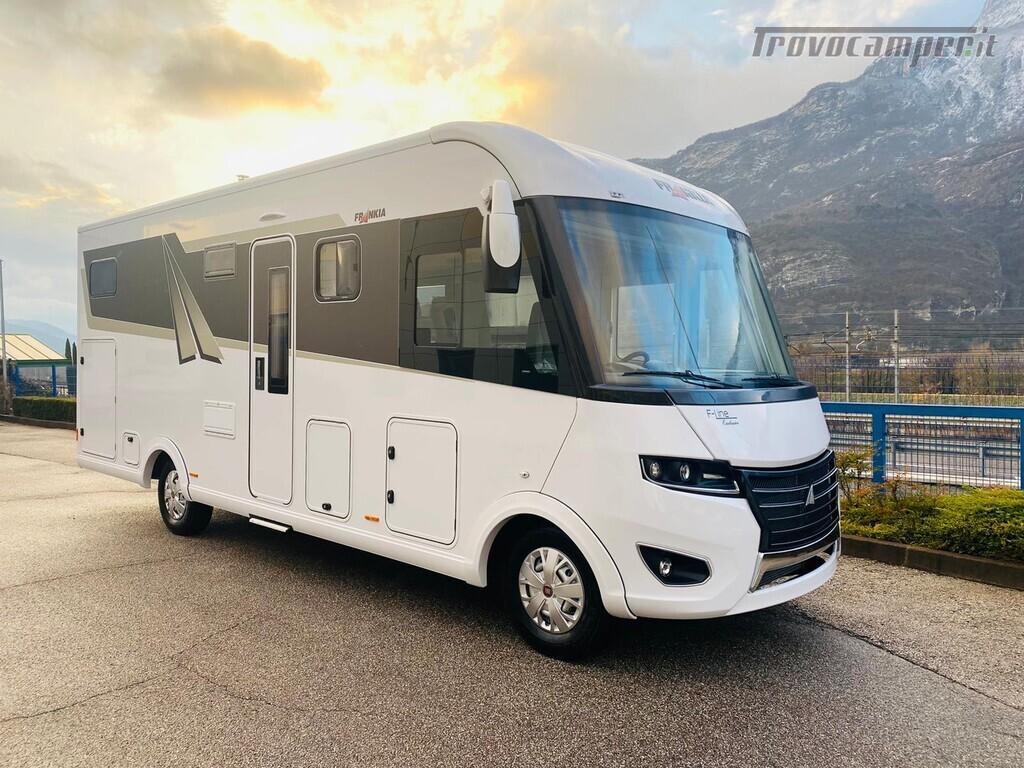 Motorhome Frankia I 740 BD nuovo  in vendita a Trento - Immagine 1