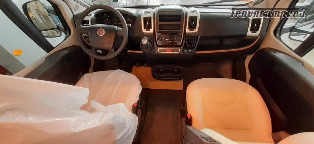 PROFILATO CON LETTI GEMELLI CARTHAGO C-TOURER T 143 LE NUOVO nuovo  in vendita a Macerata - Immagine 5