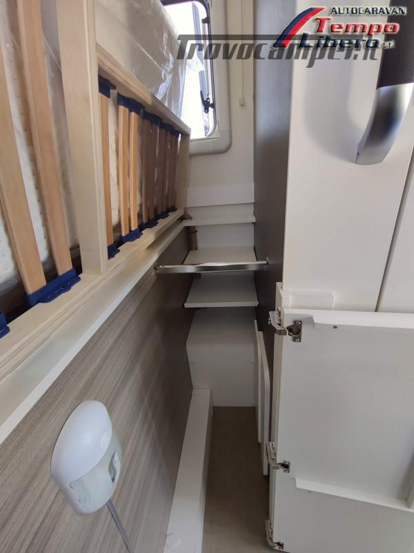 BURSTNER SEMINTEGRALE COMPATTO TRAVEL VAN T590 G CON GARAGE nuovo  in vendita a Modena - Immagine 15