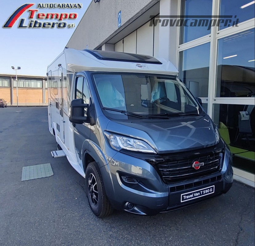 BURSTNER SEMINTEGRALE COMPATTO TRAVEL VAN T590 G CON GARAGE nuovo  in vendita a Modena - Immagine 1