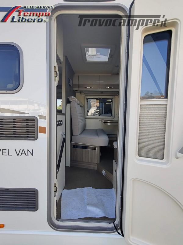BURSTNER SEMINTEGRALE COMPATTO TRAVEL VAN T590 G CON GARAGE nuovo  in vendita a Modena - Immagine 6