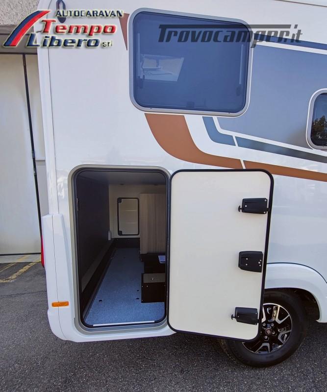 BURSTNER SEMINTEGRALE COMPATTO TRAVEL VAN T590 G CON GARAGE nuovo  in vendita a Modena - Immagine 4