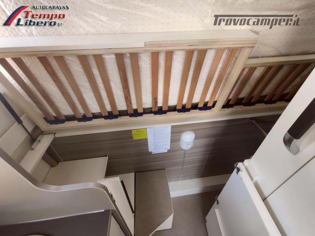 BURSTNER SEMINTEGRALE COMPATTO TRAVEL VAN T590 G CON GARAGE nuovo  in vendita a Modena - Immagine 14