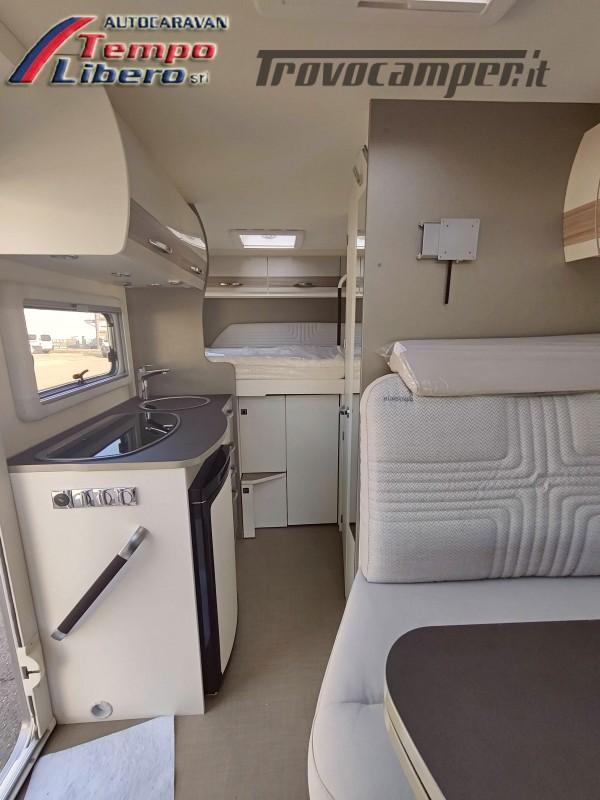 BURSTNER SEMINTEGRALE COMPATTO TRAVEL VAN T590 G CON GARAGE nuovo  in vendita a Modena - Immagine 11