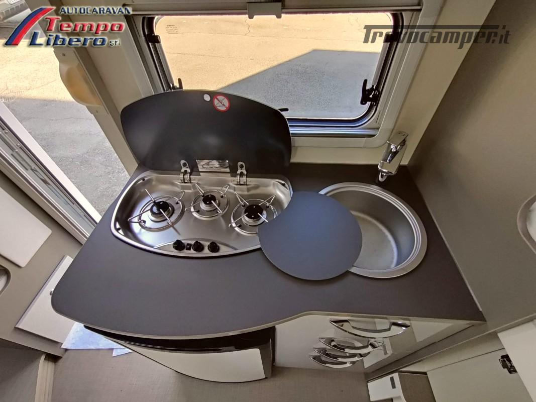BURSTNER SEMINTEGRALE COMPATTO TRAVEL VAN T590 G CON GARAGE nuovo  in vendita a Modena - Immagine 12