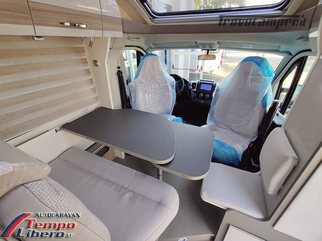 BURSTNER SEMINTEGRALE COMPATTO TRAVEL VAN T590 G CON GARAGE nuovo  in vendita a Modena - Immagine 7