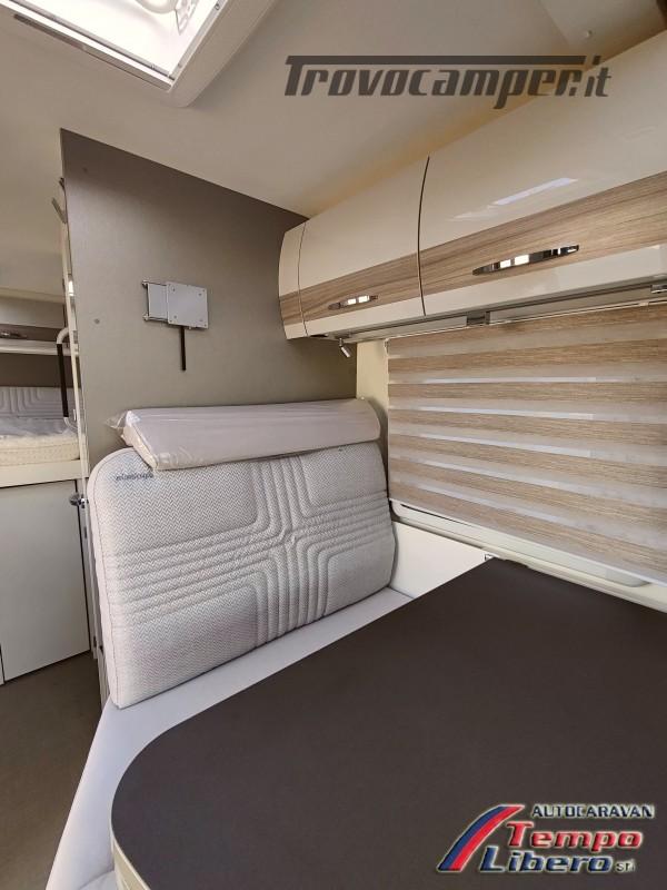 BURSTNER SEMINTEGRALE COMPATTO TRAVEL VAN T590 G CON GARAGE nuovo  in vendita a Modena - Immagine 10