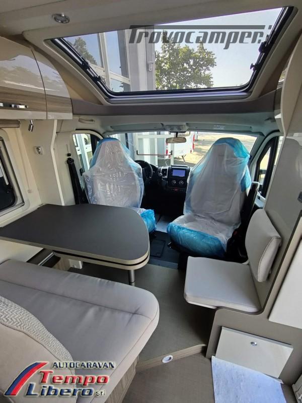 BURSTNER SEMINTEGRALE COMPATTO TRAVEL VAN T590 G CON GARAGE nuovo  in vendita a Modena - Immagine 9